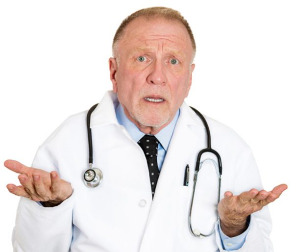 Doctor says I don't know