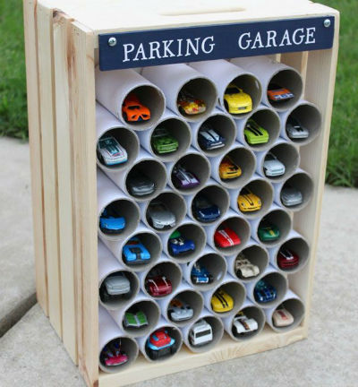 use-toilet-paper-rolls-to-create-a-garage-for-toy-cars_1480344563-e1480582370169-1