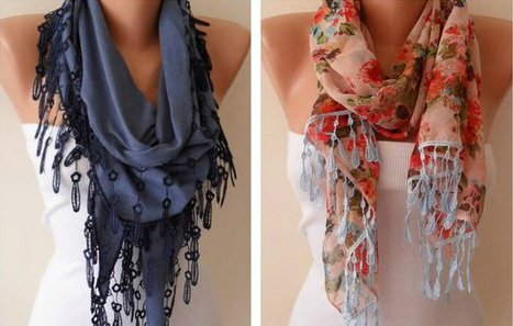 Женский шарф может полностью изменить ваш облик! 58 самых эффектных вариантов!