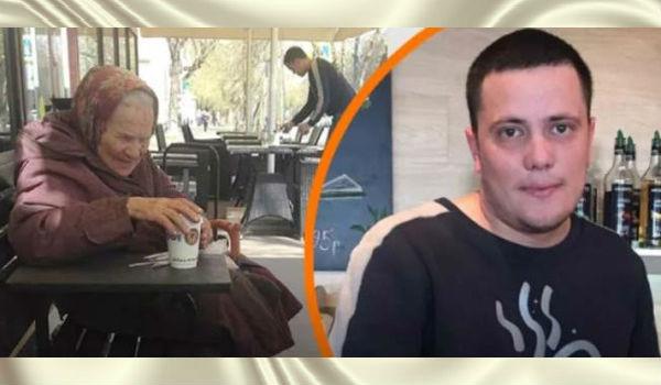 Благородство официанта в московском кафе