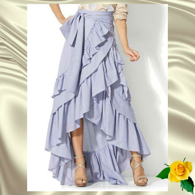 Стильные юбки палаццо для любого случая!