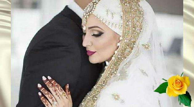 мусульманские женщины в день свадьбы