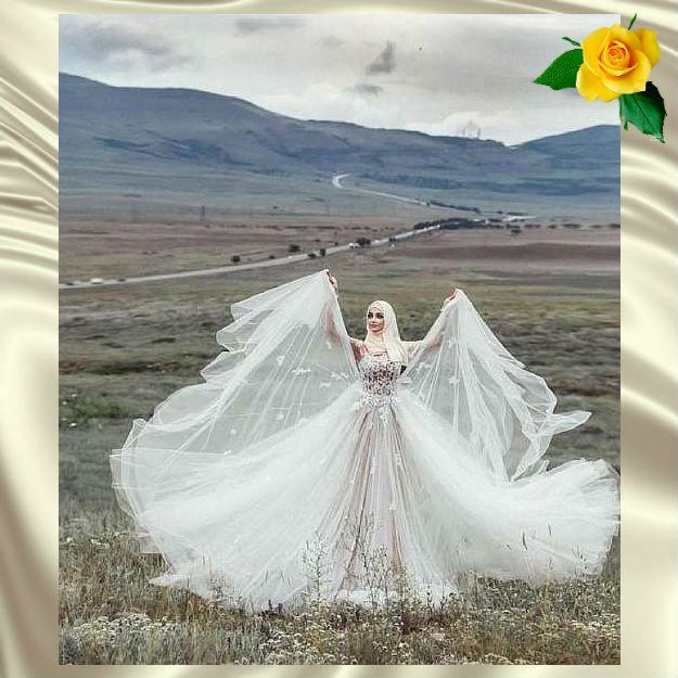 Как выглядят мусульманские женщины в день свадьбы