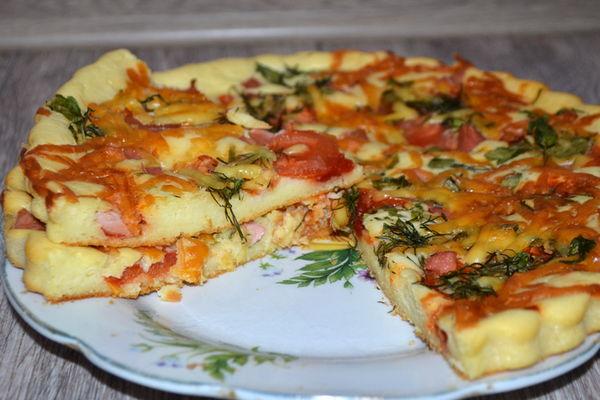 Нежное тесто для любой пиццы