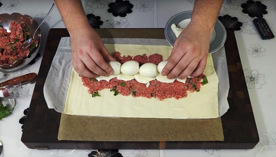 Мясной пирог по особенному рецепту