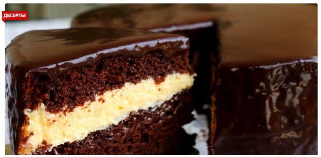 Насыщенный и ванильный торт «Эскимо». Такой не найти даже в кондитерской!