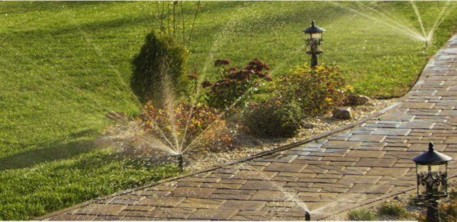 Система автоматического полива на даче или в загородном доме
